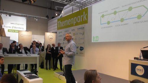 Arne Westphal InsurTech Pitch DKM 2018 Zurich