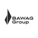 Logo BAWAG Group schwarzweiß