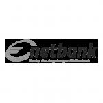 Logo netbank schwarzweiß