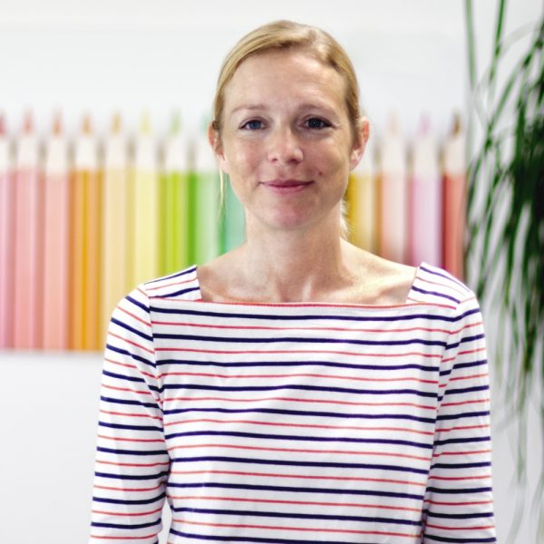 Portrait Saskia Grimasse bei ECON Application