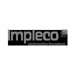 Impleco Logo schwarzweiß
