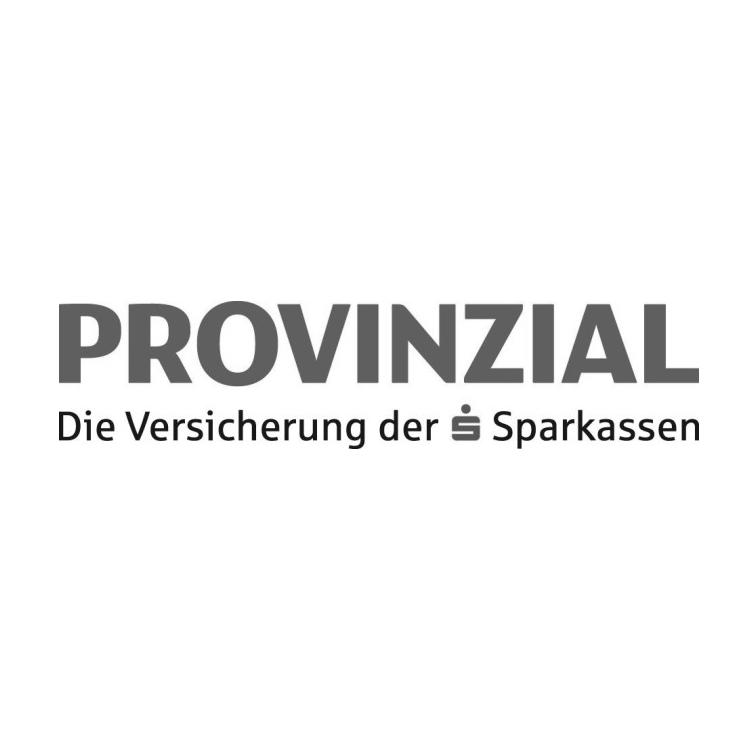 Logo Provinzial Versicherung schwarzweiß