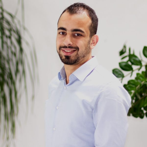Portrait Ahmad bei ECON Application
