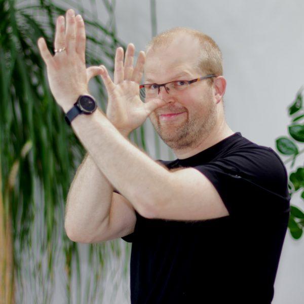Portrait Christian Grimasse bei ECON Application