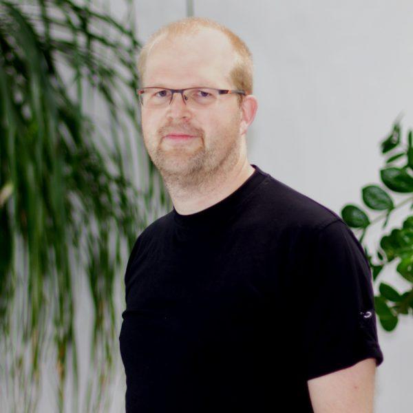 Portrait Christian bei ECON Application