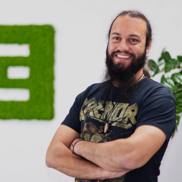 Portrait Ravi bei ECON Application