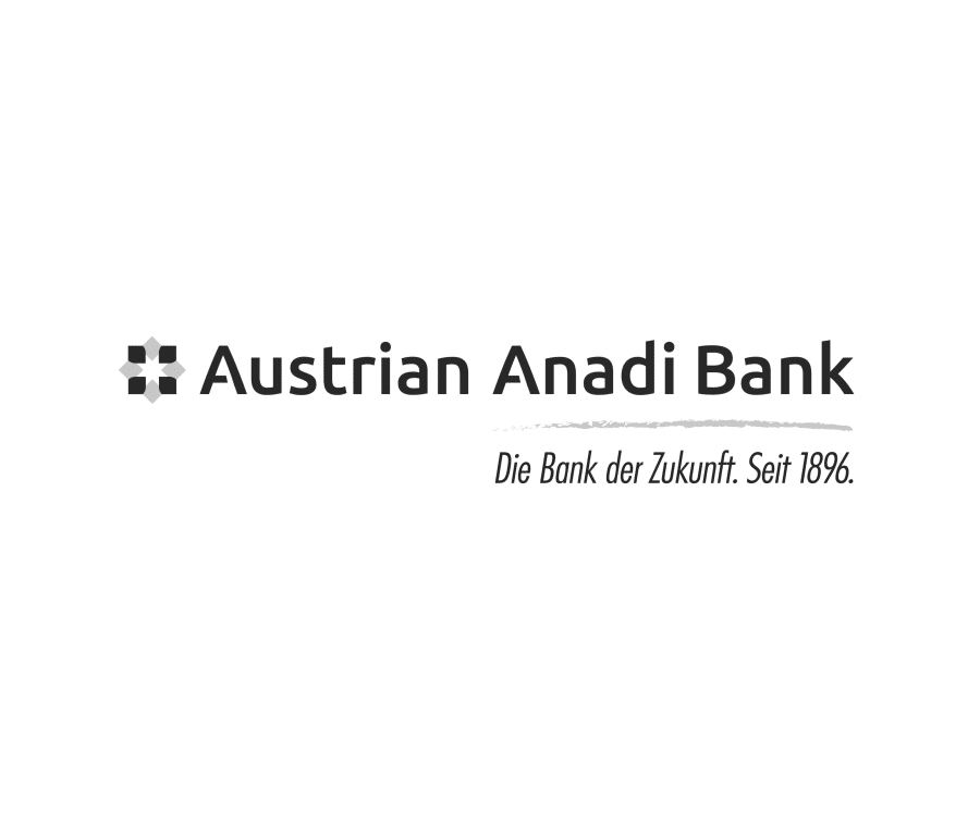Logo Austrian Anadi Bank schwarzweiß