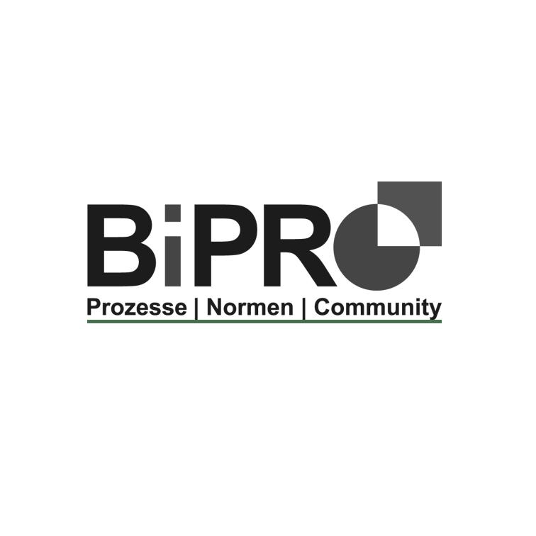Logo BiPRO schwarzweiß
