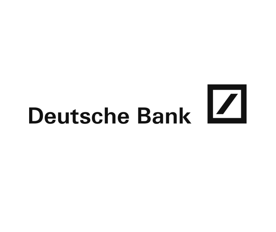 Logo Deutsche Bank schwarzweiß
