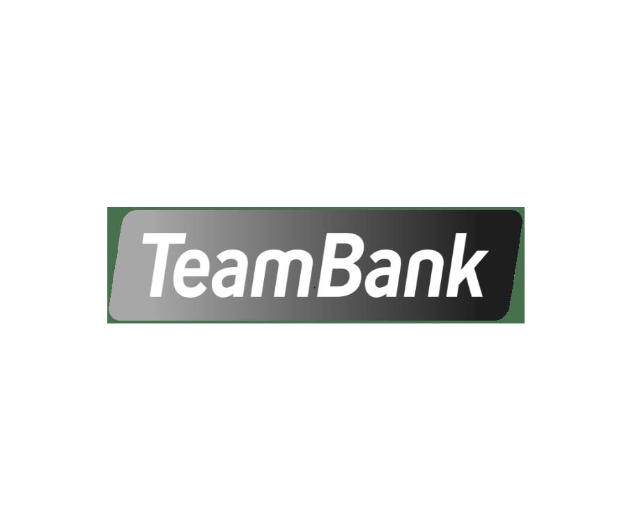 Logo Teambank schwarzweiß