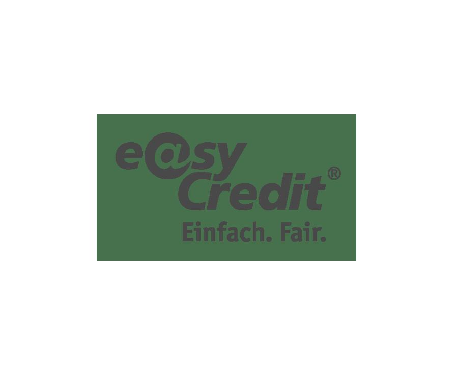 Logo easyCredit Teambank schwarzweiß