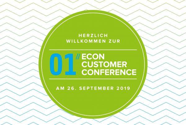 Die erste ECON Customer Conference 2019