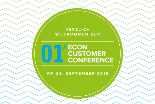 NEWS Die 1. ECON Customer Conference