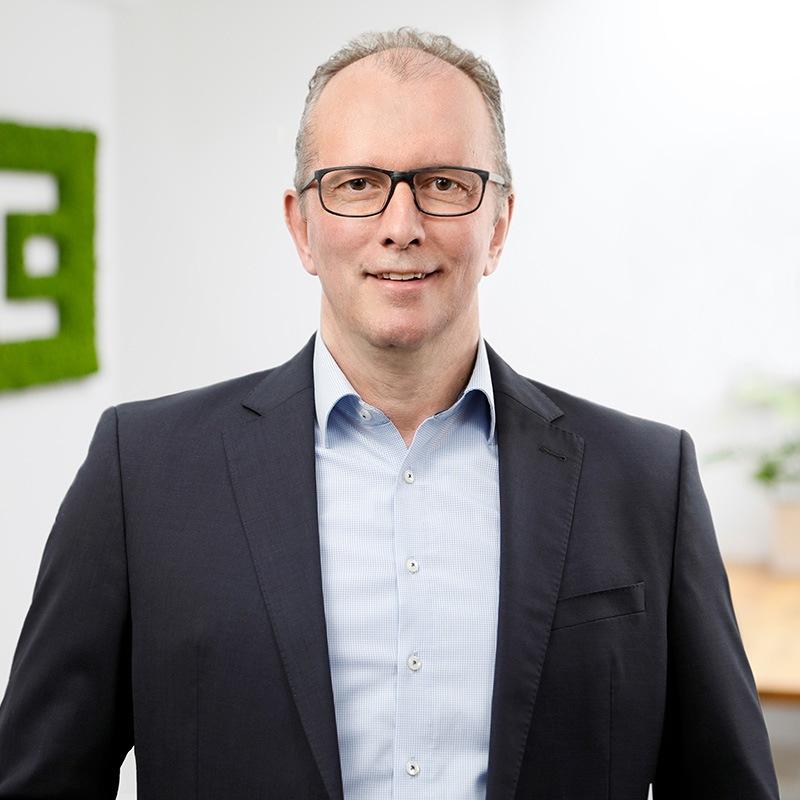 Portrait von HP Olbrück Geschäftsführer der ECON Application GmbH